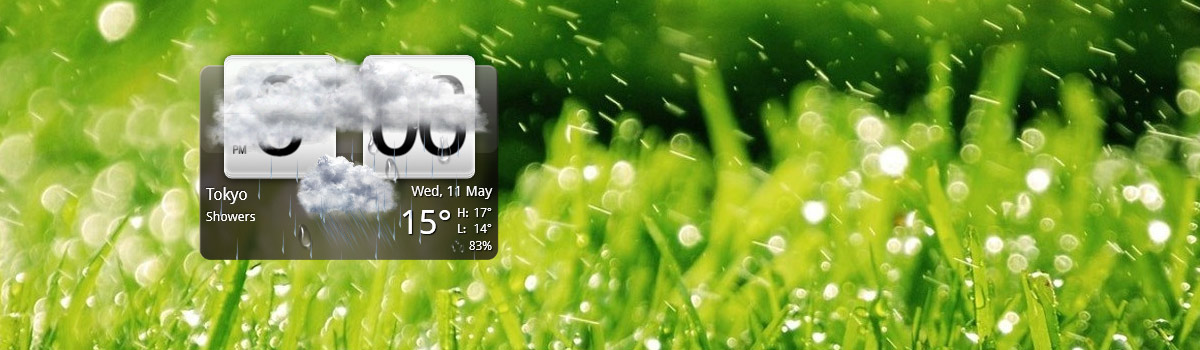 Widget HTC Sense su Windows con HTC Home